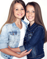 Young sisters photography